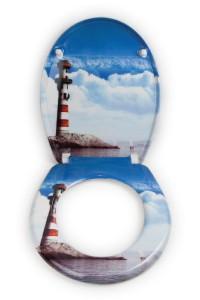 Toilettendeckel Leuchtturm