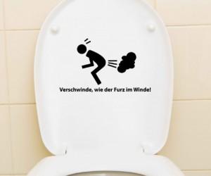 Toilettendeckel Lustig