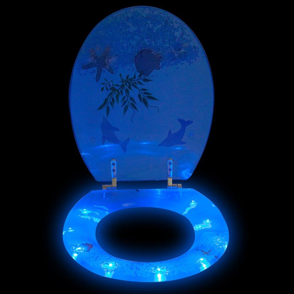 beleuchtete wc sitze led toilettendeckel online kaufen