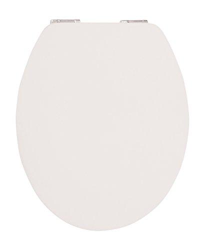 WC-Sitz High-Gloss Real White mit Soft-Schließ-Komfort und Fast Fix