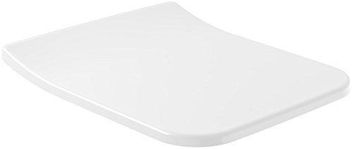 Villeroy & Boch 9M79S101, WC-Sitz SlimSeat Venticello 9M79 454 x 49 x 379 mm, weiß Alpin
