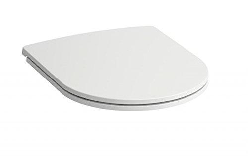 LAUFEN PRO Slim (niedrige Ausführung) flacher WC-Sitz mit Deckel abnehmbar 8989650000001