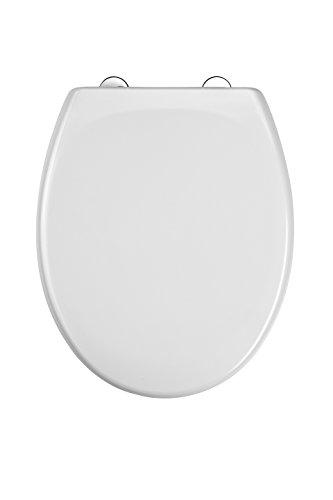 WC Sitz Duroplast, mit Absenkautomatik und Schnellverschluss, Weiß, ED69310