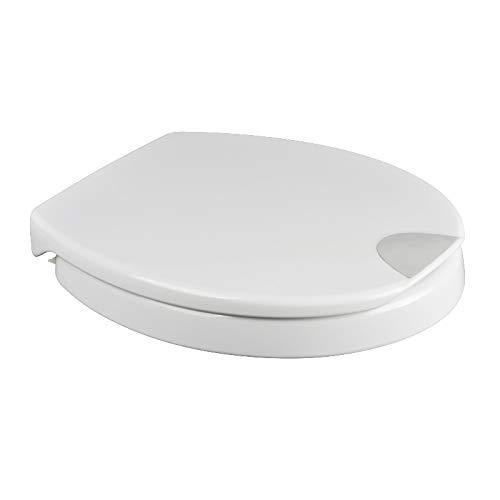 Novara Plus Duroplast WC Sitz Erhöhung 5 cm mit Absenkautomatik