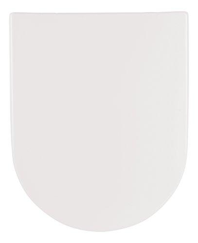 SANLUX - 40387 0 - WC Sitz mit Absenkautomatik - Toilettendeckel aus Duroplast - Abnehmbare WC Brille in Weiß - Klodeckel mit Fast Fix