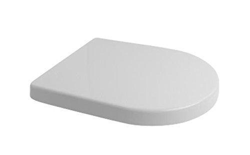 veebath Splash D Shape Soft Close Toilettensitz WC mit Steckbefestigung