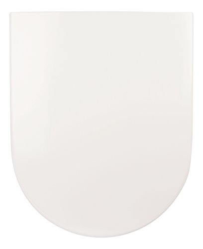 SITZPLATZ - 56553 0 - WC Sitz mit Soft Close Absenkautomatik - Toilettendeckel aus Duroplast - WC Brille in Weiß