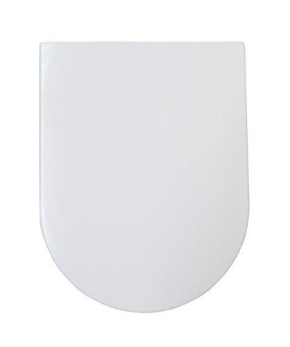Eisl WC Sitz BRISTOL Duroplast, mit Absenkautomatik, D-Form, Weiß, ED89010