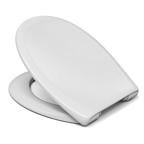 Sanifri 470011127 WC-Sitz Pera, weiss, Soft-Close/Take off,