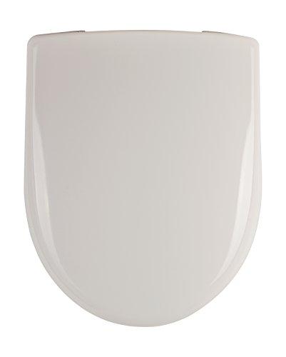Keramag 573025000 Renova Nr. 1 Plan WC-Sitz 573010, weiß, 573025, 45.3 x 37 x 6 centimeters