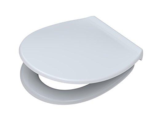 Toto Germany Pagette WC-Sitz  Exklusive Highline mit Deckel und Absenkautomatik Polyamid, weiß, 790830402