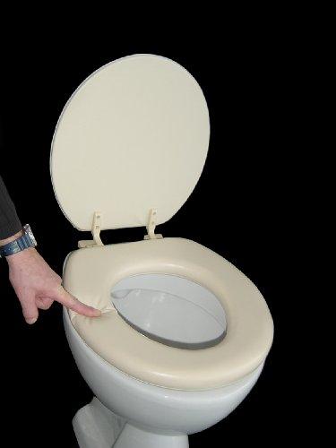 Soft WC Sitz gepolstert Farbe beige