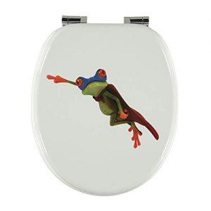 Toilettendeckel Frosch