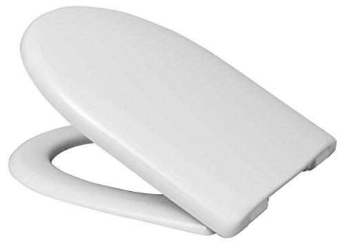 Haro Move SoftClose WC-Sitz 528644, weiß, Scharnier Klappdübel C0102G; passend zu Keramag 4U/iCon