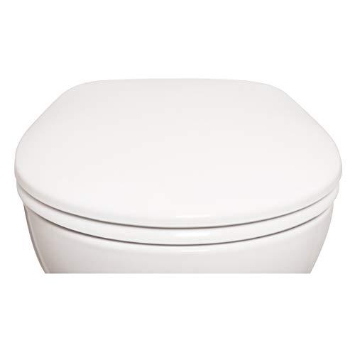 Bullseat 5.1 WC Sitz weiß • Absenkautomatik/Softclose • abnehmbar • easyclean • Klobrille • hochwertiges Duroplast