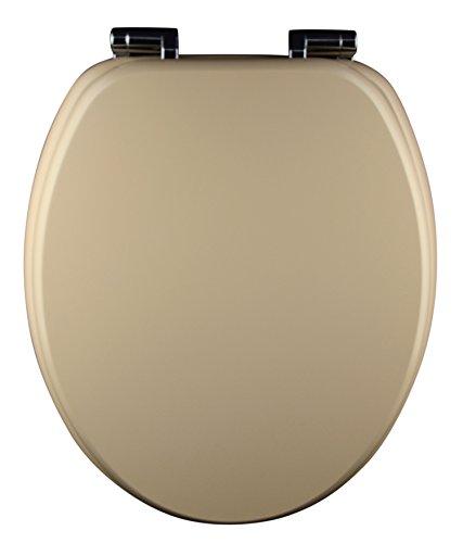 Eisl WC Sitz Spirit, Holzkern, mit Absenkautomatik, Beige, ED09570SC