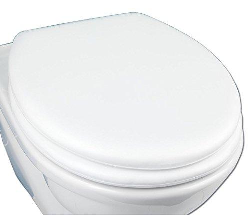 WENKO 77701500 WC-Sitz Soft , Kunststoff, 36.2 x 7.2 x 44.7 cm, Weiß