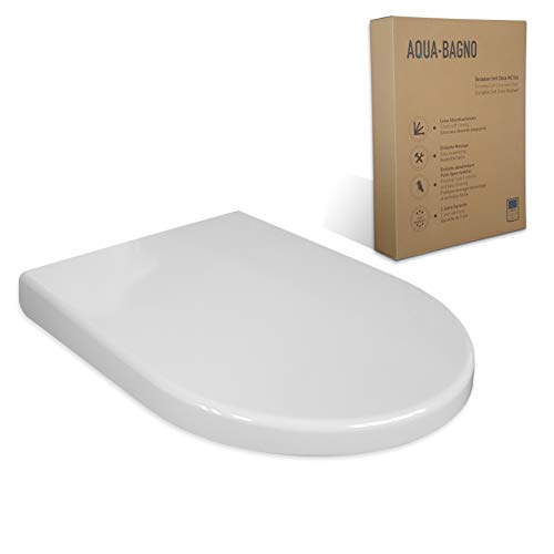 Kesser® WC Sitz Toilettensitz Toilettendeckel Klodeckel Klobrille Blackstone
