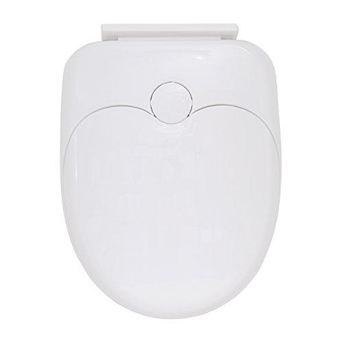 MSV WC-Sitz für Erwachsene/Kinder Plastik weiß 30 x 20 x 15 cm