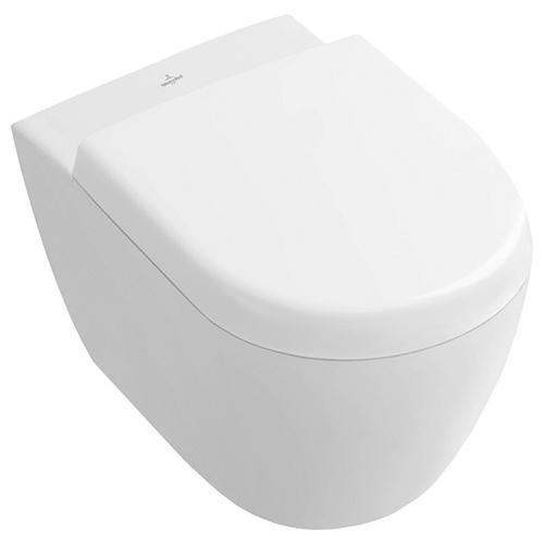 Villeroy & Boch 9M69Q101 WC-Sitz Subway 2.0, weiß