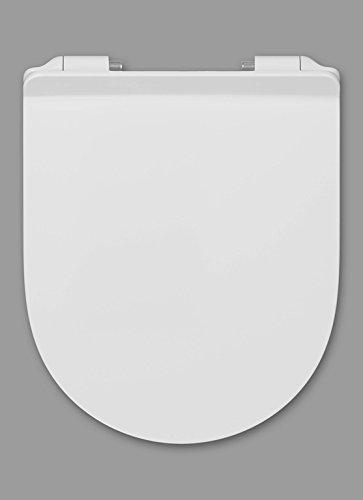 Haro Ray SoftClose Premium WC-Sitz weiß, Scharnier FastFixmutter C0202Y; 531339, passend zu Laufen Pro alt