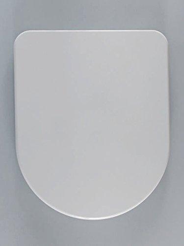 Haro Spring WC-Sitz, weiß, Scharnier FastFixmutter B0302Y; 516342; passend zu Keramag Renova Nr. 1 und Laufen Pro