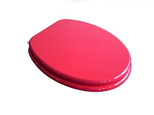 ADOB 85631 WC Sitz Klobrille Fresh mit Absenkautomatik, Farbe Rot