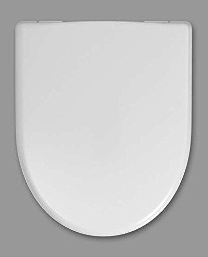 Haro Move WC-Sitz 530200, weiß, Scharnier Klappdübel C0102G; passend zu Keramag Renova Nr. 1 Neu und 4U/iCon