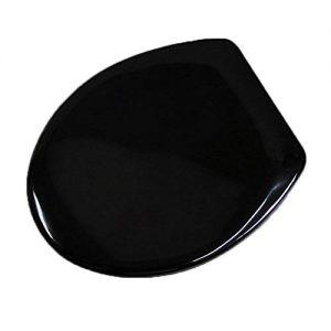 WC-Sitz in schwarz