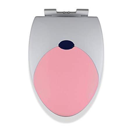 Virtue Retail Familie WC-Sitz ideal für Kleinkinder Kids Blau Pink Weiß Gelb Töpfchen Training leicht zu reinigen rutschfeste