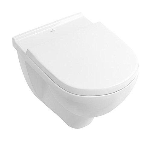 Villeroy & Boch 9M396101 WC-Sitz O. Novo, Scharniere aus Edelstahl, weiß