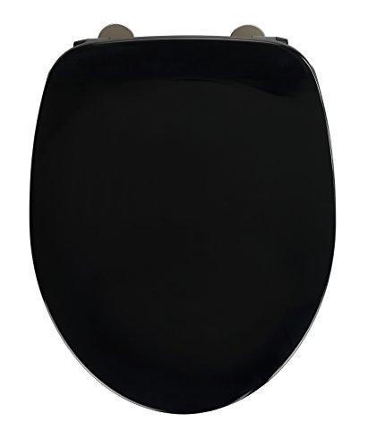 Wenko 23212100 WC-Sitz Schwarz