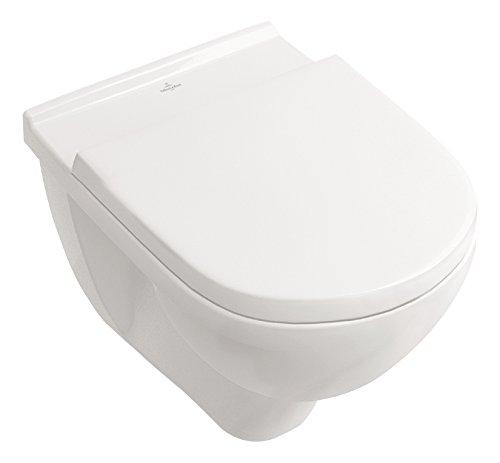 Villeroy & Boch 5660HR01 Villeroy und Boch O.Novo Wand-WC Set, 5660HR, 5660HR-Wand Directflush/Spülrandlos