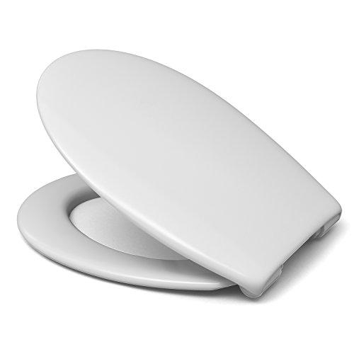 Sanifri 470011129 WC-Sitz Nera, weiss