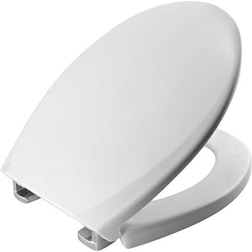 Bemis 3900CPT000 OXFORD Thermoplastik WC-Sitz mit STA-TITE Fixierungssystem, für ein wackelfreies Sitzvergnügen Weiß