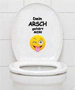 Toilettensitz lustig