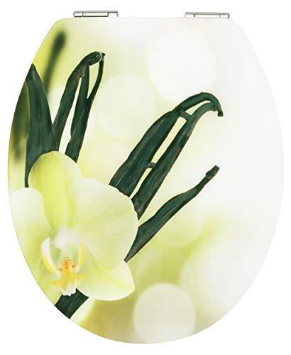 "Cornat WC-Sitz Art of Acryl ""Vanilla Cream"" - Elegante Acryl-Oberfläche - Hochwertiger Holzkern - Absenkautomatik & Schnellbefestigung - Komfortables Sitzgefühl / Toilettensitz / Klodeckel / KSDSC305"
