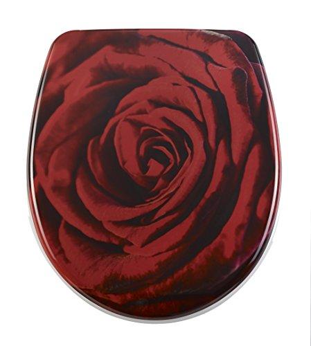 DIAQUA WC-Sitz Nice Slow-Motion, Rose, 40,5-46 x 37,5 cm, mehrfarbig, 31171204