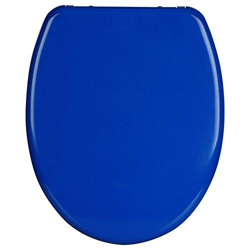 WOLTU WS2597 Premium WC-Sitz mit Absenkautomatik, Duroplast, Fast Fix, Softclose, Antibakteriell, Neu&Ovp, Dunkelblau