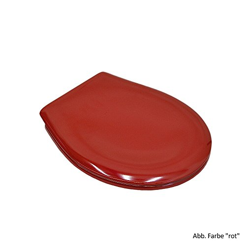 Keramag WC-Sitz mit Deckel Kind, rot, 573337000