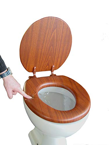 ADOB Soft WC Sitz gepolstert, Eiche, 43302