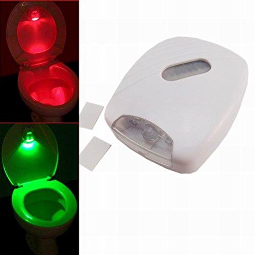 Generic LED Sensor Motion Activated Toilet Light Bathroom Flush Toilet Lamp
