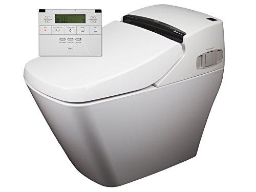 2x Dusch-WC VOVO PB707S Sparpaket Spülrandlos Rim free Tornadoflush Washlet Intimdusche Analdusche Toilette Komplettsystem Dusch-Toilette