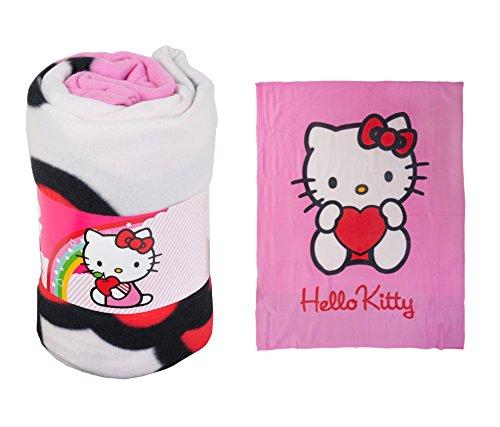 Hello Kitty Polaren Fleecedecke Rosa