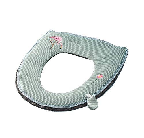 Antibakterielles WC-Kissen Weiche und bequeme Toilettensitz-Abdeckungs-Auflage, Grün