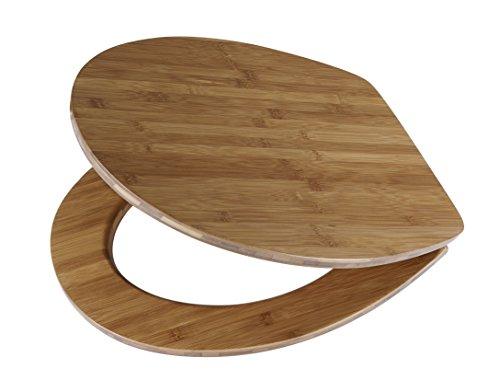 DIAQUA WC-Sitz Lyon Slow-Motion, Dark Bamboo, 42-47 x 37,8 cm, braun, 32137597