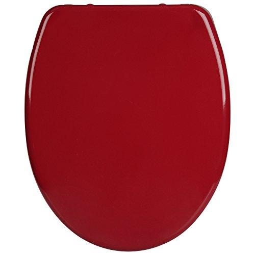 WOLTU WS2600 Premium WC-Sitz mit Absenkautomatik, Duroplast, Fast Fix, Softclose, Antibakteriell, Neu&Ovp, Bordeaux