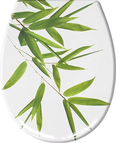 Kleine Wolke 1830600075 WC-Sitz Bamboo, 37 x 45 cm, grün