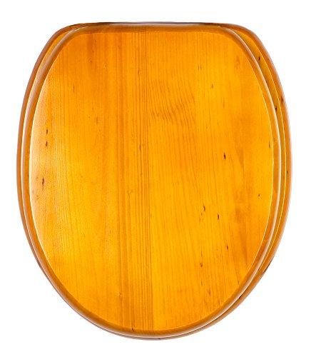 WC Sitz, hochwertige Oberfläche, einfache Montage, stabile Scharniere, Holz