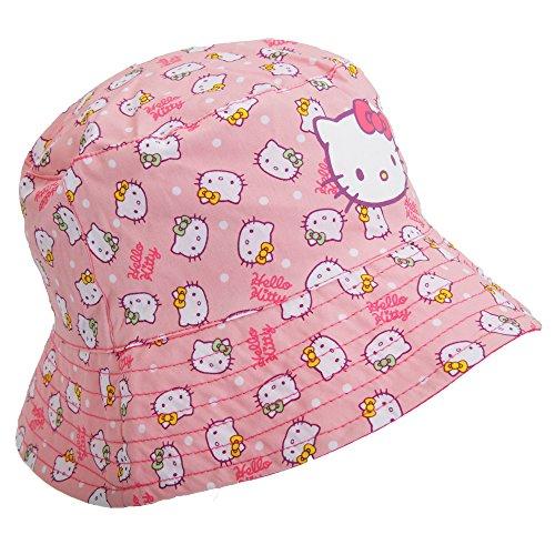 Kinder/Mädchen Hello Kitty Coral Sommerhut (1-3 Jahre) (Koralle)